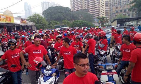 Himpunan Baju Merah himpunan baju merah 16 september rosakkan imej najib kata pas mrm