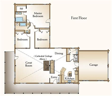 one bedroom log cabin plans new 3 bedroom log cabin floor plans new home plans design