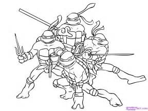 turtle coloring pages free printable pictures - Mutant Turtle Coloring Pages