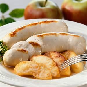 boudin blanc aux pommes facile recette sur cuisine actuelle