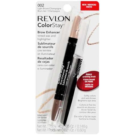 Revlon Brow revlon colorstay brow enhancer tinted wax and highlighter
