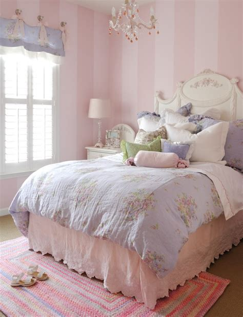 pink and lavender bedroom bedroom with royal princess style bedding light