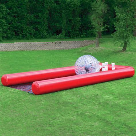 Backyard Bowling Set by The Human Bowling Hammacher Schlemmer