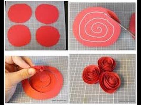 manualidades navide241as faciles de hacer como hacer manualidades faciles flores de papel 1
