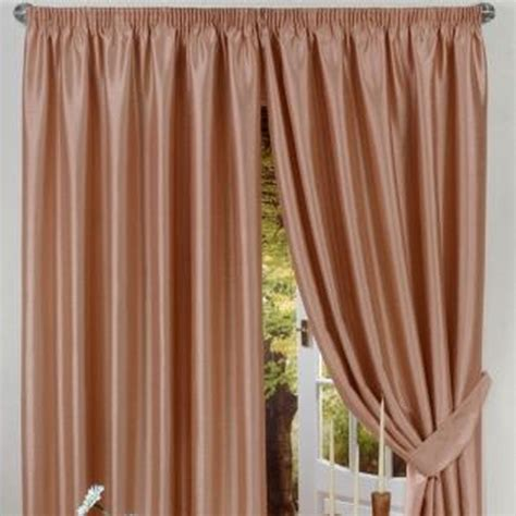 46 by 54 curtains faux silk curtains 46 x 54 latte buy online at qd stores