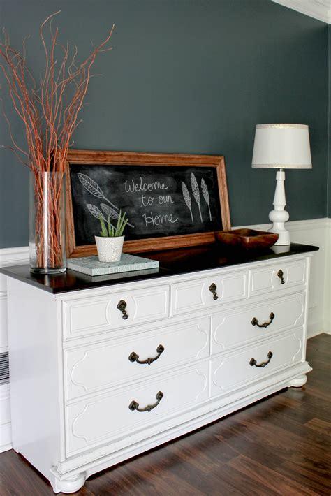 Dresser Dining Room by Dining Room Chalkboard Vignette Erin Spain
