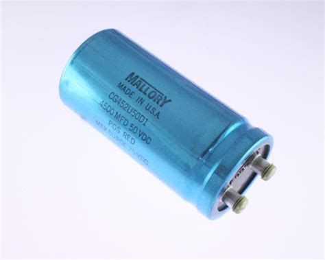 laptop fan capacitor cg452u50d1 mallory capacitor 4 500uf 50v aluminum electrolytic large can computer grade 2020025549