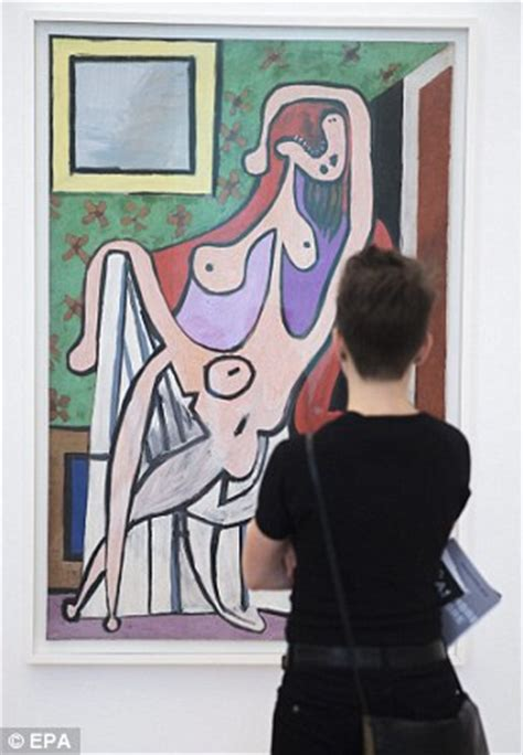 nude woman in red armchair paris picasso museum finally to re open its doors after