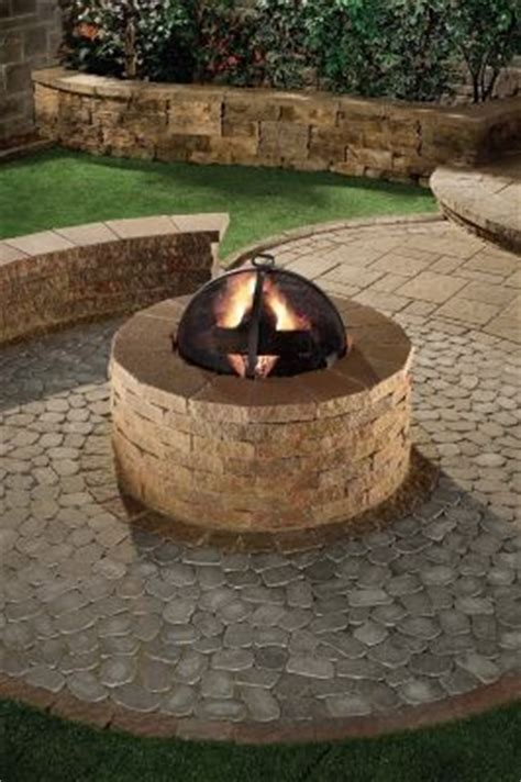 pit made out of pavers 1000 images about patios pool decks and paver bricks on