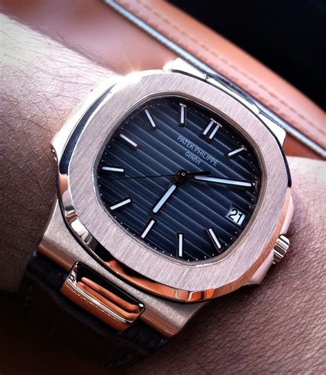 Patek Philipe Nautilus Rosgold Clone 11 patek nautilus cheap watches mgc gas