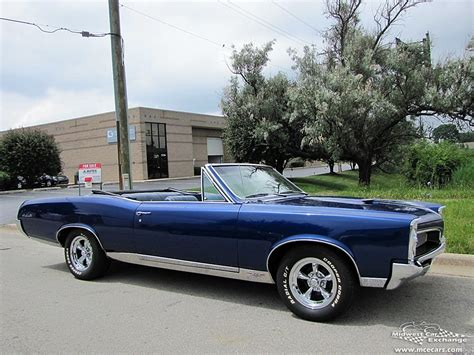 67 Pontiac Gto Convertible David Nicol Now Writing Stories About The
