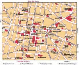 map of bologna bologna map
