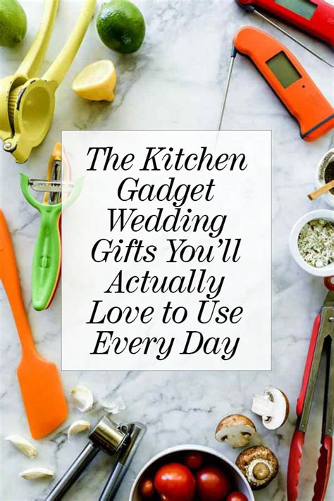 kitchen gadget wedding registry gifts to forever