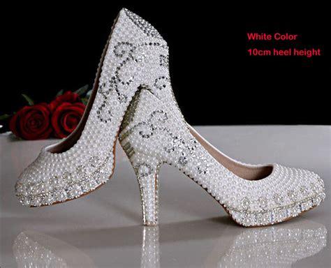 pretty shoes new arrival pretty wedding shoes imitation pearl white