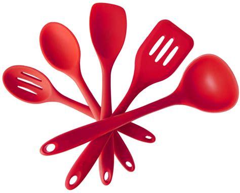 utensilios de cocina silicona compra utensilios de cocina de color rojo al por