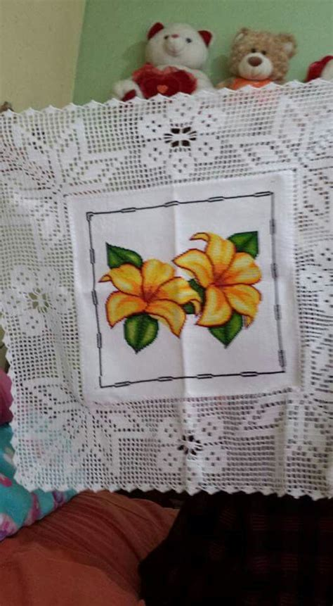 Pashmina Instan Motif One Pad Nibras 193 best images about manteles tejidos on