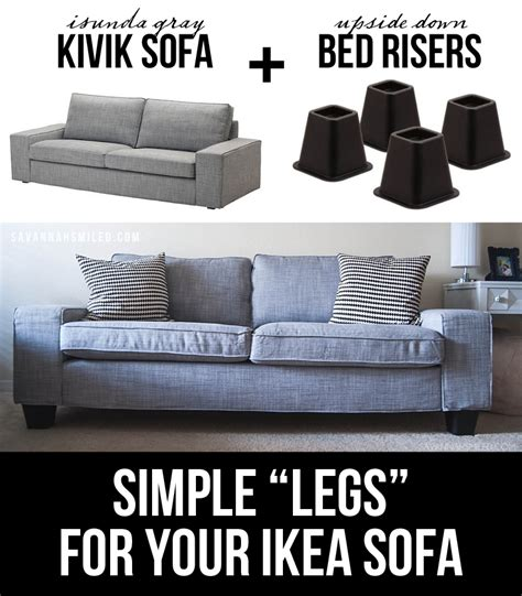 how to raise sofa height 24 easy ways to make your furniture look more expensive