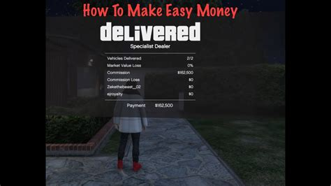 How To Make Easy Money In Gta V Online - how to make easy money gta 5 youtube