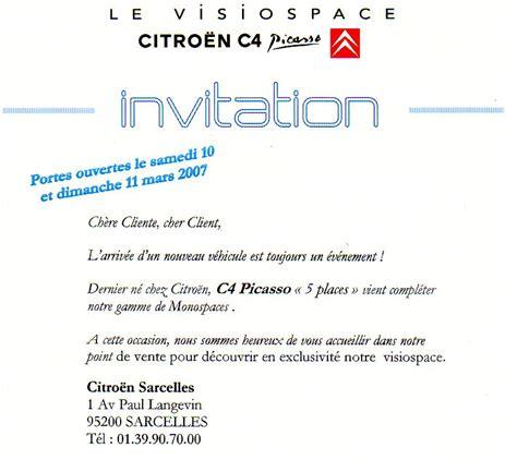 Exemple De Lettre D Invitation Commerciale Modele Lettre Invitation Portes Ouvertes