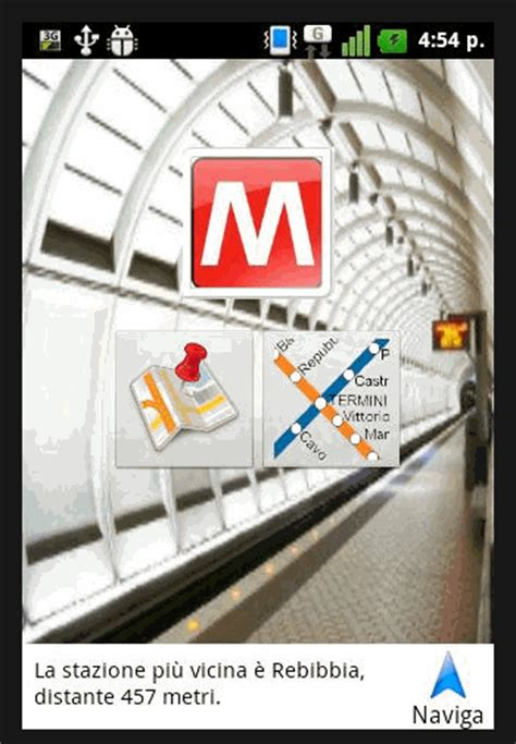atac calcola percorso mobile mappa metro di roma linea a arancione linea b guida