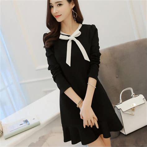 Formal Korea Dress Ds4194 Black compare prices on korean black dress shopping buy