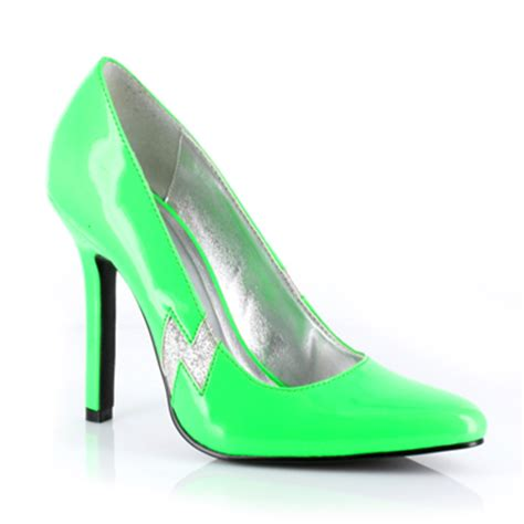 lime green high heels jem supplies