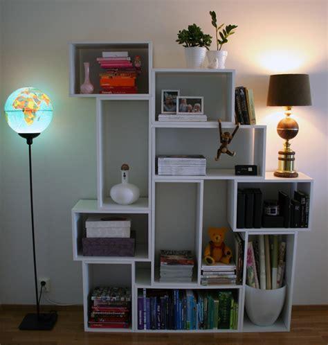 picture of diy modern bookcase