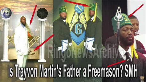 ringonewsarchive is trayvon martin s father a freemason