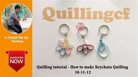 How To Make A Keychain With Paper - 17 best images about paper quilling key chains on