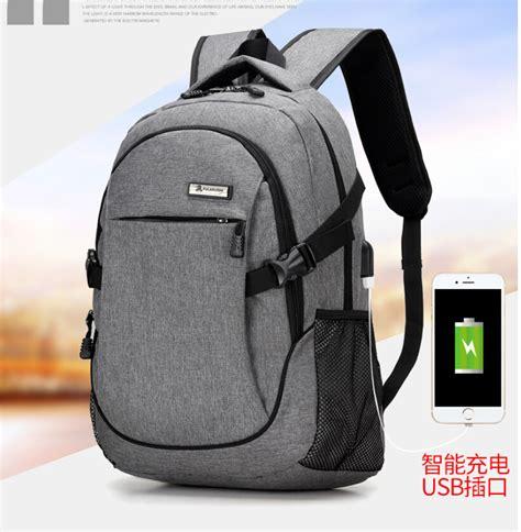 Xdyizu Backpack Usb Tas Ransel Usb Kuliah Sekolah Ker Murah tas ransel laptop oxford pria dengan usb charger port black jakartanotebook