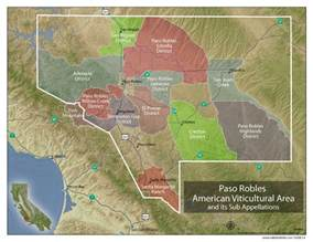 understanding paso robles wine w maps wine folly
