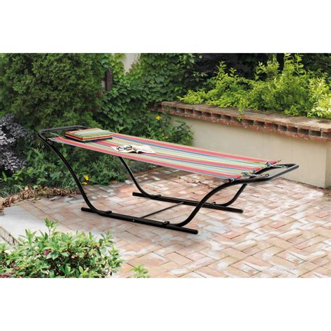 Metal Frame Hammock Replacement Mainstays Folding Sling Hammock With Stand By