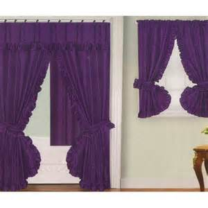 Purple Bathroom Window Curtains Purple Fabric Swag Shower Curtain With Matching Window Curtain And Vinyl Liner