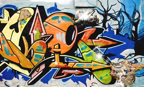foto mural pared graffiti ciudades