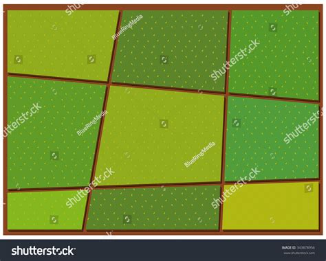 stock pattern viewer pattern of crop from top view illustration 343878956