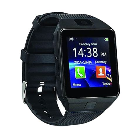 Smartwatch Cognos Jual Onix Cognos Dz09 Smartwatch Hitam Karet