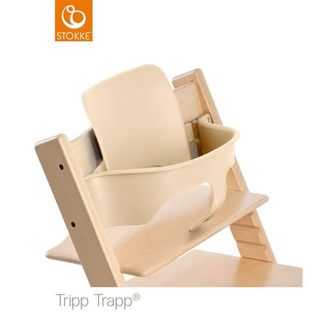 chaise trip trap stokke 174 tripp trapp 174 highchair baby set natural at