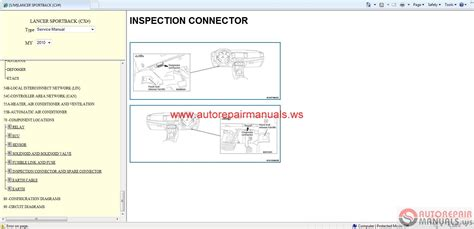 manual repair autos 2010 mitsubishi lancer security system mitsubishi lancer sportback 2010 service manual auto repair manual forum heavy equipment