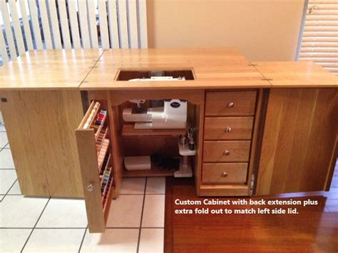 Amish Furniture Classic Sewing Machine Cabinet   Sewing