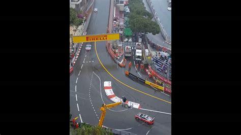 which corner does a st go on monaco 2016 porsche supercup race double crash sainte