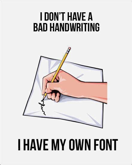 Meme Writing Font - i don t have bad handwriting