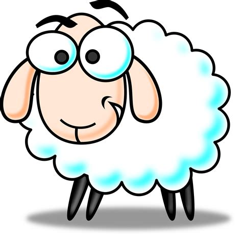 colored sheep colored sheep clipart clip images 3187
