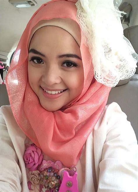 Jilbab Tasya foto cantik selfie tasya kamila