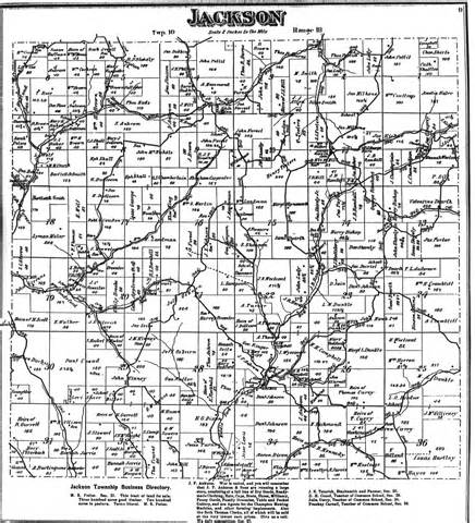 Chapter 25 Section 1 Counties Towns And Townships Answers by Ohio Township Map