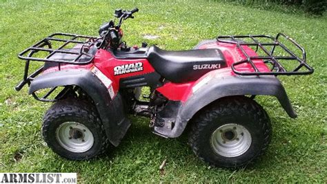 2001 Suzuki Quadrunner 250 For Sale Armslist For Sale Trade 2001 Suzuki Runner Atv