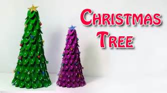 diy christmas tree christmas tree craft  plastic spoons youtube