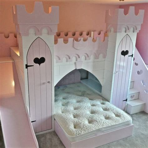 Princess Castle Bed With Slide by Children S Themed Beds Bedroom Furniture Children S