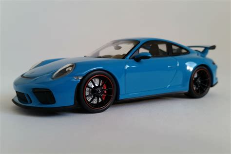 Porsche Gt3 Model Car by Porsche 991 Gt3 2017 1 43 Scale Diecast Model Car