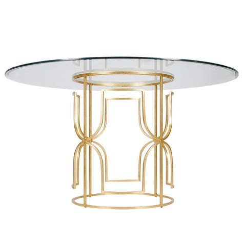 Gold Dining Table Worlds Away Gold Leaf Dining Table I Layla Grayce