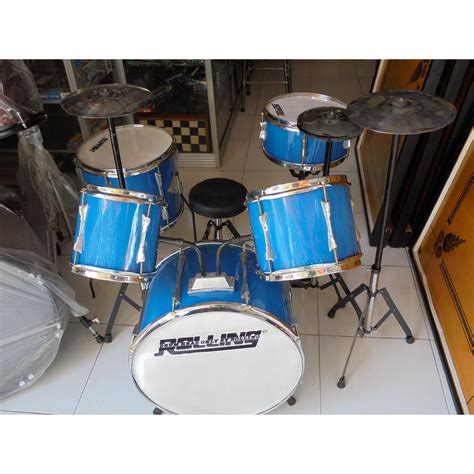 Drum Mini Anak by Drum Set Mini Anak Anak Komplit Elevenia